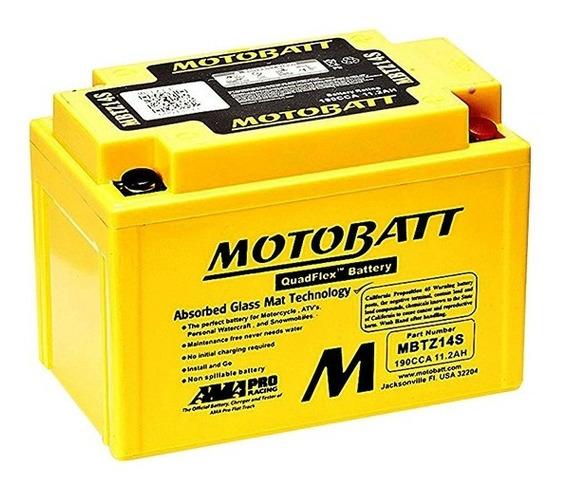 Bateria Motobatt Mbtz14s 11.2ah Sv650 S Sv650 A Gsx-r1000