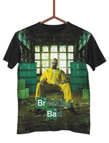 Camisa Camiseta Breaking Bad Walter White Série G0355