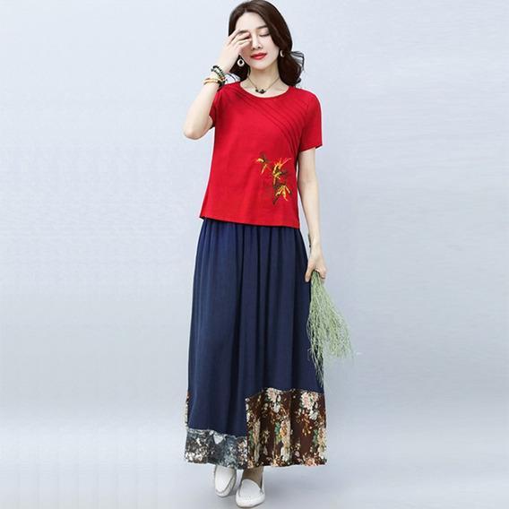 5118df6dd311 Falda Elegante Dama - Ropa, Bolsas y Calzado de Mujer Azul marino en ...