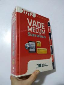 Livro: Vade Mecum Saraiva 2012 13°edição Com Cd