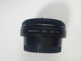 Adaptador Fotodiox Pro Om-nik - Lentes Olimpus/câmeras Nikon