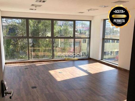Sala, 42 M² - Venda Por R$ 450.000,00 Ou Aluguel Por R$ 2.000,00/mês - Vila Guiomar - Santo André/sp - Sa0250