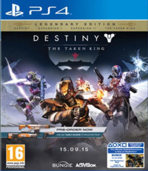 Jogo Destiny The Taken King Lendaria Edition - Ps4