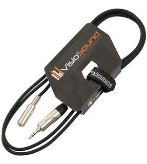 Cable Extensor Visiosound 3.5mm Mini Jack Plomo/jack 3m