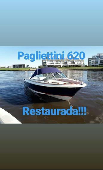Lancha Pagliettini 620 Con Mercruiser 4.3 Año 2009 Restaurad