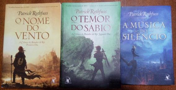 Livros - A Crônica Matador Do Rei (2 Livros + Livro Brinde)