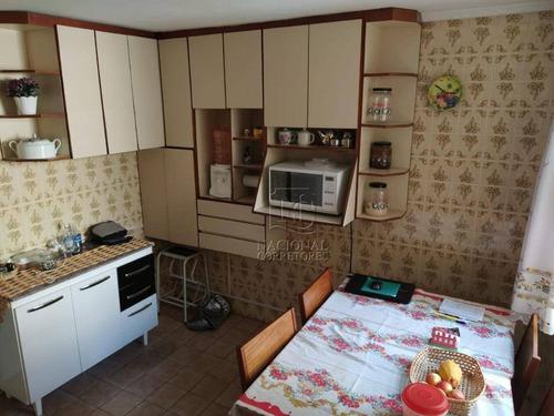 Imagem 1 de 23 de Sobrado Com 3 Dormitórios À Venda, 101 M² Por R$ 370.000 - Vila Camilópolis - Santo André/sp - So3568