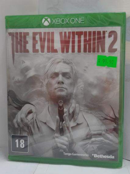 Jogo Xbox One The Evil Within 2 Midia Fisica Original Novo