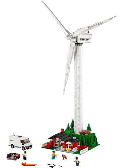 Lego Creator Vestas Wind Turbine 10268 Original Bricktoys