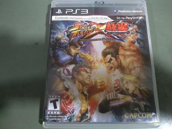 Jogo Seminovo Street Fighter X Tekken Ps3 Pronta Entrega!!!!