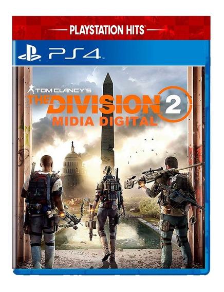 The Division 2 De Ps4 Mídia Digital Promoção Mídia Primaria