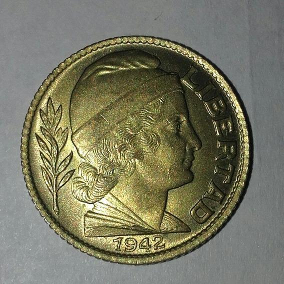 Monedas Arg 20 Centavos Torito 1942 / 43