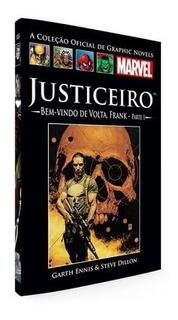 Livro Hq Graphic Novels Justiceiro - Bem Vindo De Volta