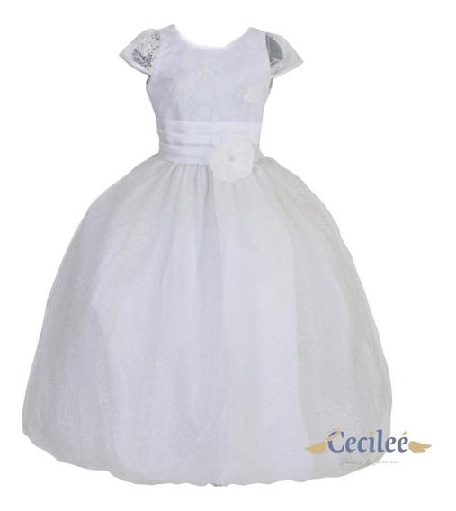 Vestido De Fiesta Niña De Lujo Exclusivo Pajecita Rsy