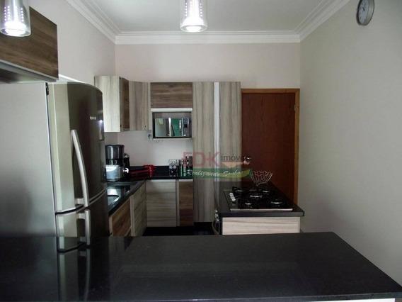 Sobrado Com 3 Dormitórios À Venda, 220 M² Por R$ 600.000 - Bairro Dos Guedes - Tremembé/sp - So0689