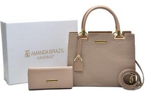 Bolsa Feminina Grande Amanda Brazil