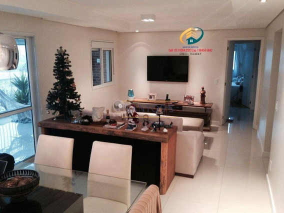 Apartamento Com 3 Dormitórios À Venda, 130 M² Por R$ 969.000,00 - Jardim Dom Bosco - São Paulo/sp - Ap0935