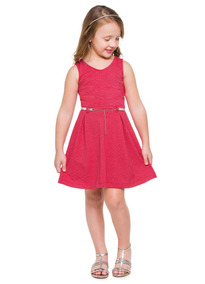 Kit Lote 4 Vestidos Roupa Infant. Feminina - Tam 6 Anos
