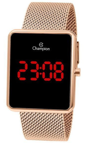 Relógio De Pulso Digital Champion Ch40080p