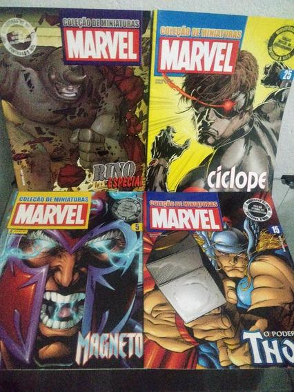 Coleção De Revistas Marvel 26 Vol. - Miniaturas Eaglemoss