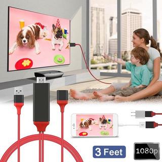 Adaptador Cable De Video Universal Mhl Hdmi / iPhone Android