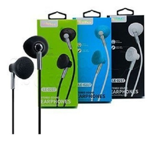 Fone De Ouvido Intra-auricular C/ Mic Stereo Earbuds Lelong