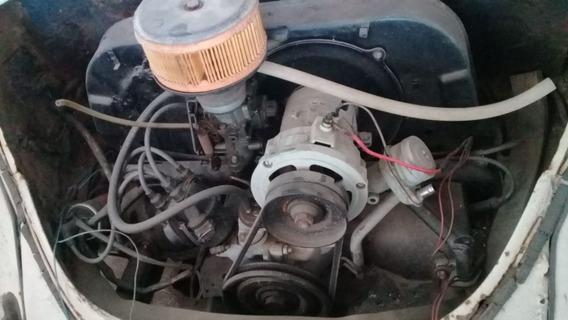 Fusca 83 Com Motor Zero Precisando De Funilaria E Pintura