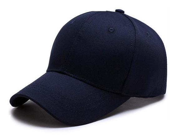Gorras Azul Marino Unicolor Para Bordar (tienda Física)