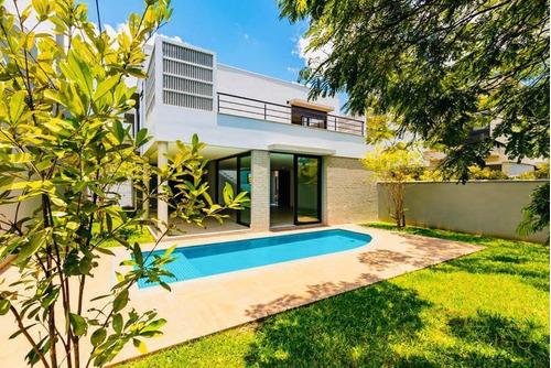 Boulevard Ibirapuera | Casa Nova Em Condomínio, Piscina, Jardim, 3 Suítes E 4 Vagas. Alameda Dos Nhambiquaras, 111 - 500 Metros Parque Das Bicicletas - Ca0519