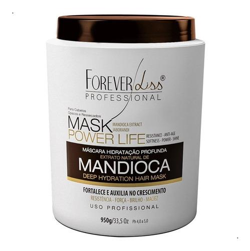 Creme De Hidratação Profissional Mandioca 950g Forever Liss