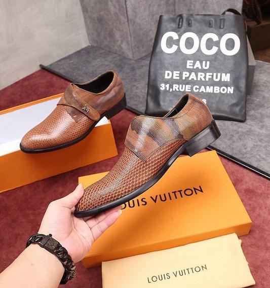 Zapatos Louis Vuitton Casual Cuero Top ( Bajo Pedido )