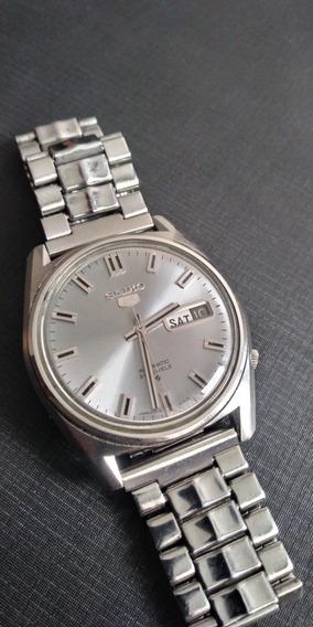 Relógio Seiko 5 6119 Automático Lindo , Funciona Tudo