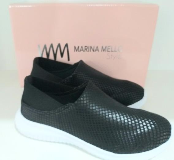 Tênis Snake Slip Marina Mello. Tênis Marina Mello Original