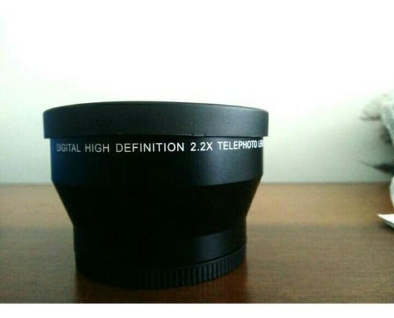Lente Telephoto 2.2x 67mm Para Canon, Nikon, Sony