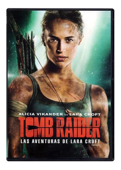 Tomb Raider Las Aventuras De Lara Croft 2018 Pelicula Dvd