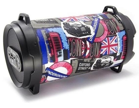 Caixa De Som Amplificada Subwoofer Bluethoot Fm Usb Barato