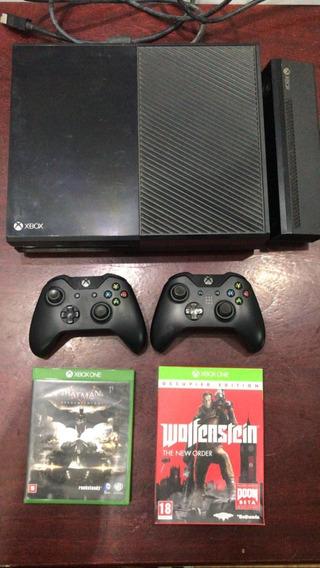 Xbox One 500gb Com Kinect, 2 Controles E 2 Jogos