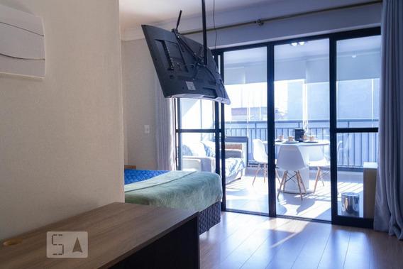 Apartamento Para Aluguel - Bom Retiro, 1 Quarto, 30 - 892974660