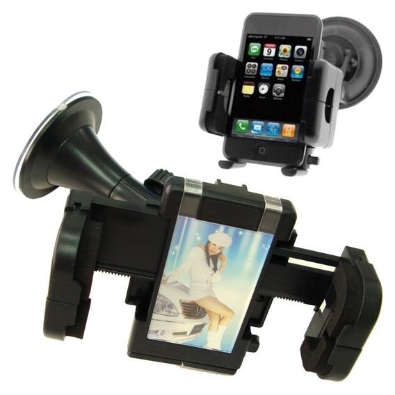Suporte Veicular Universal Ventosa Gps Celular Smartphone Tv
