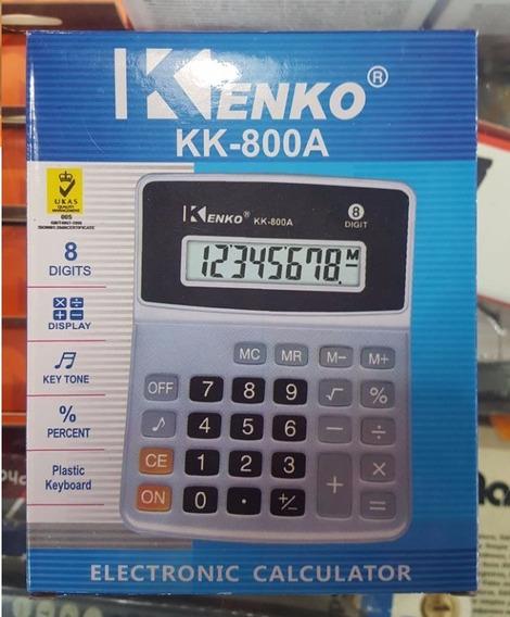 Calculadora Kenko Kk-800a 8 Digitos
