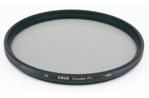 Imagen 1 de 5 de Filtro Polarizador Circular Exus Marumi 77mm Antiestatico