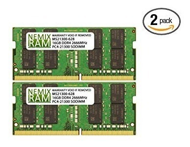 Memoria Ram Nemix De 32 Gb, 2 X 16 Gb, Para Apple Mac Mini 2