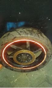 Roda Traseira Da Kasinski Gtr 250,com Disco De Freio E Pneu