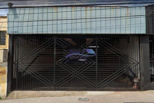Imagem 1 de 11 de Galpão Para Alugar, 310 M² Por R$ 10.000,00/mês - Cidade São Mateus - São Paulo/sp - Ga0208