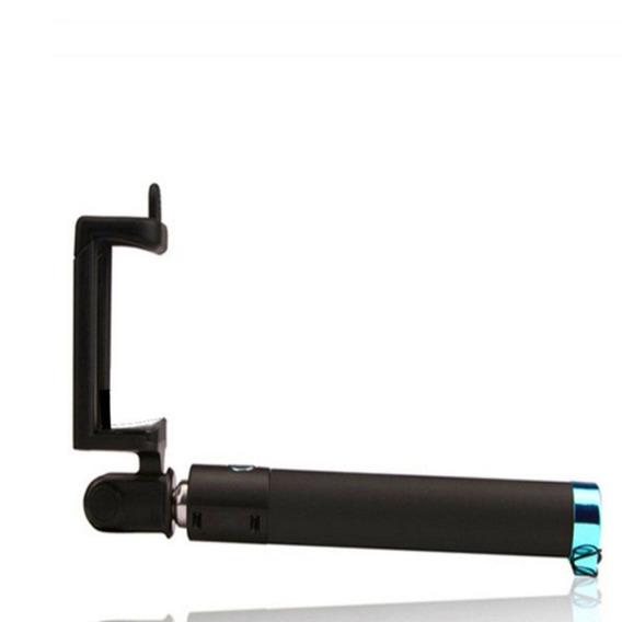 Bastão Monopod Para Smartphone Selfie Cabo P2