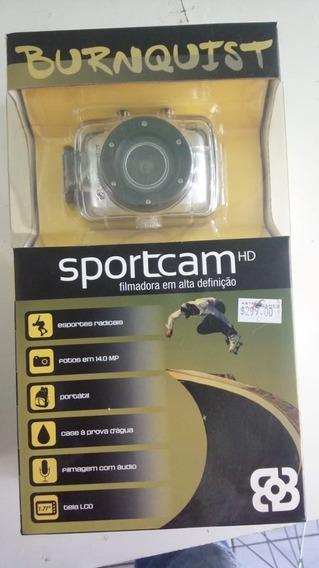 Câmera Sportcam Hd Burnquist Multilaser Cinza