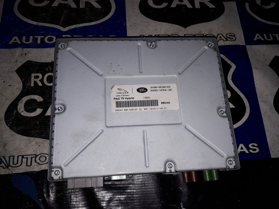 Módulo De Entretenimento Tv Digital Range Rover. Cx Modulo De Som 01