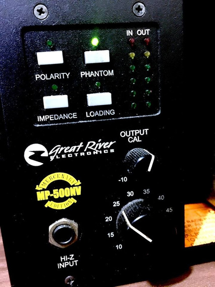 Pre Amp Greatriver Nv500 Neve 1073 Moderno Api Ssl
