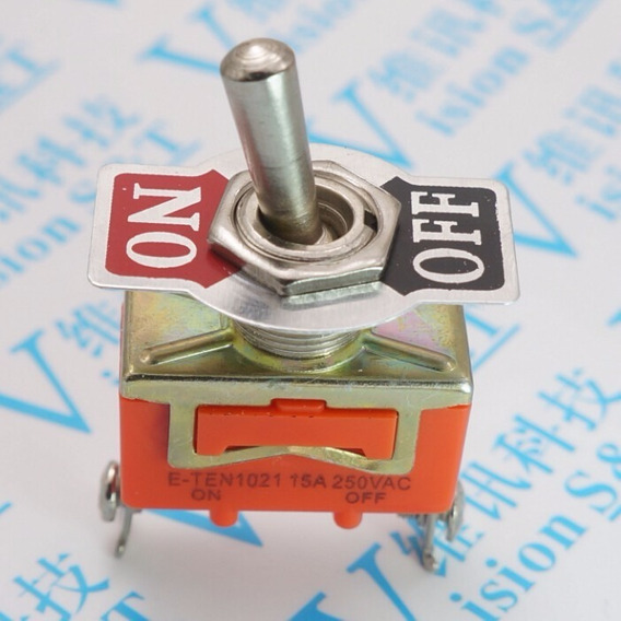 Interruptor Tic Tac Liga/desliga 15a 250vac; 2 Posiçoes;