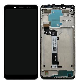 Display Frontal Tela Touch Xiaomi Redmi Note 5 Pro Com Aro